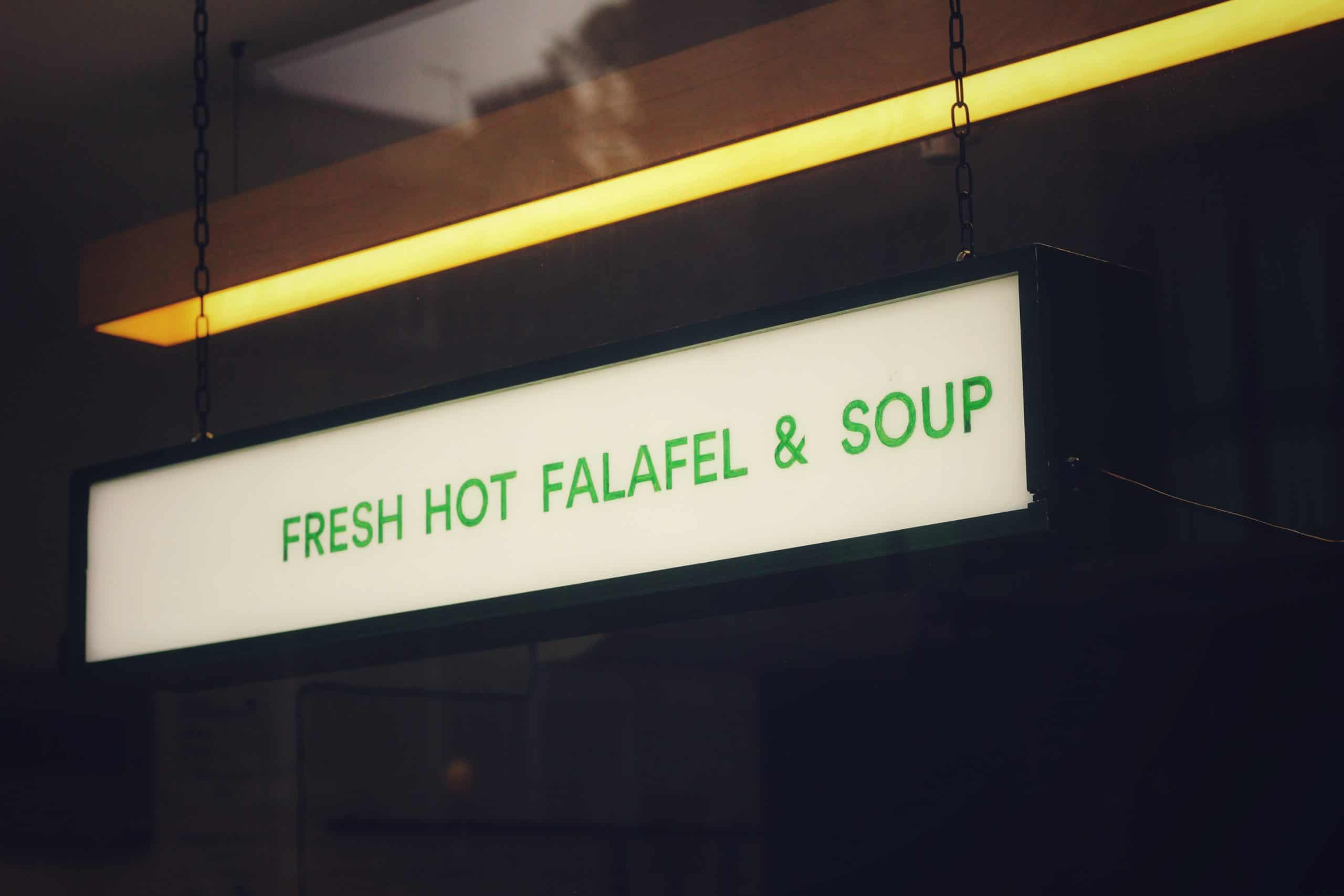 Eat Exotic Dishes Which Are Made By Expert Chefs Of Falafel King
